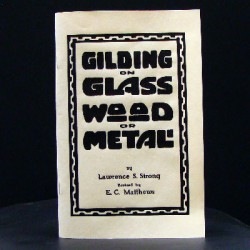 Gold leaf Application how to gild books