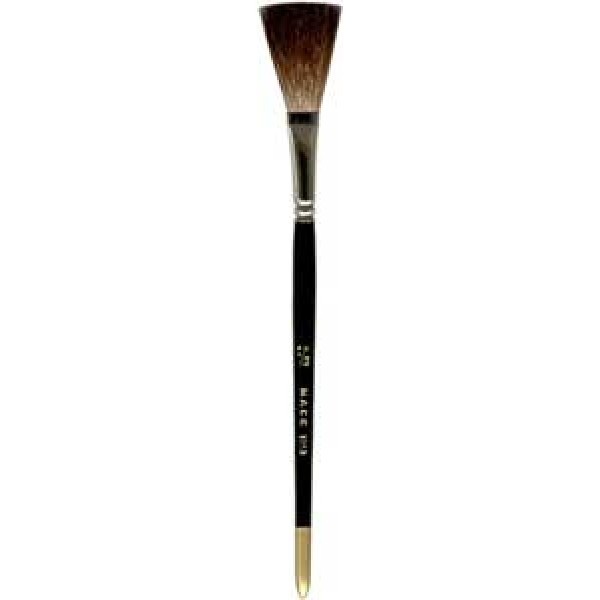 "Flat Lettering Brush ""Soft Stroke"" Brown series 1992 size 3/4"""