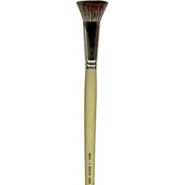 """Fitch Brushes Square soft Sable hair series 4031 size 1"""""""