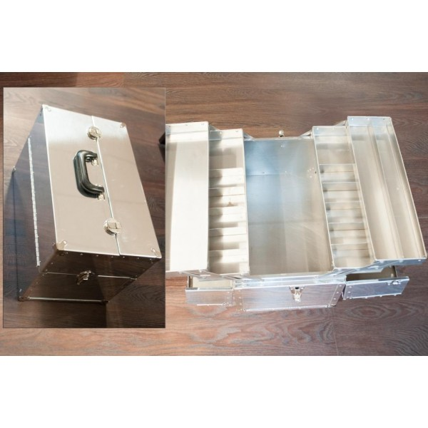 Sign Kit Brush Box Aluminum
