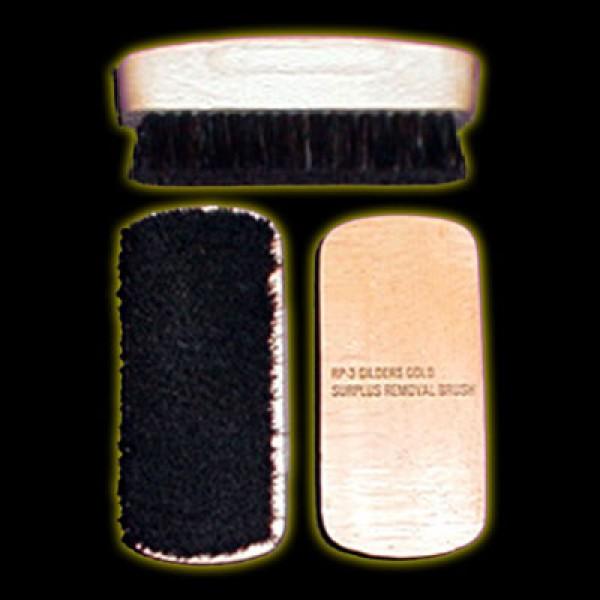 Gold Surplus Removal Brush