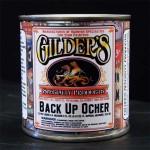 Gilders Gold Leaf Back Up Paint - Ochre Quart