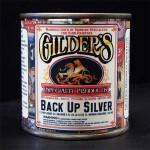 Gilders Gold Leaf Back Up Paint - Silver