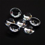 Clear Crystal Sign Jewels 15mm
