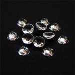 Clear Crystal Sign Jewels   8mm