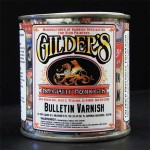 Gilders Bulletin Spar Varnish Gold Leaf Clear Coat - Quart